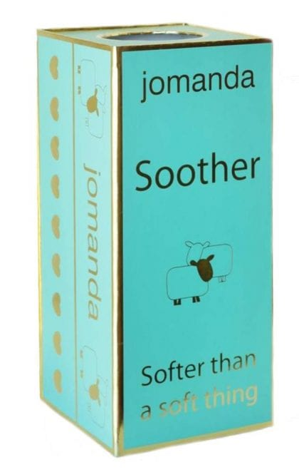 Jomanda Super Soft Baby Comforter and Soother - Sheep-88145