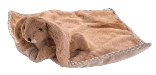 Jomanda Super Soft Toy Soother Blanket - Brown Bunny 2