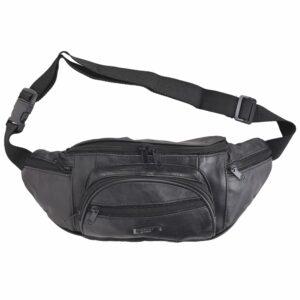 Mens - Ladies Lightweight Nappa Leather Waist Bag