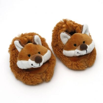 Jomanda Super Soft New Born Baby Booties with Cute Fox Faces-88133