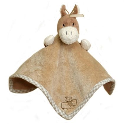 Jomanda Super Soft Baby Comforter and Soother - Pony-0