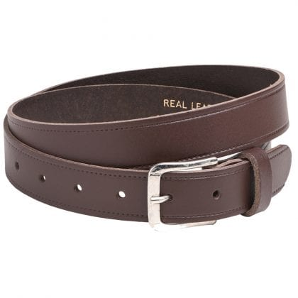 "Arnicus Unisex 25mm - 1"" Genuine Leather Plain Belt"