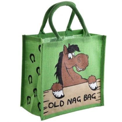 'Old Nag Bag' Re-usable Jute Shopping Bag
