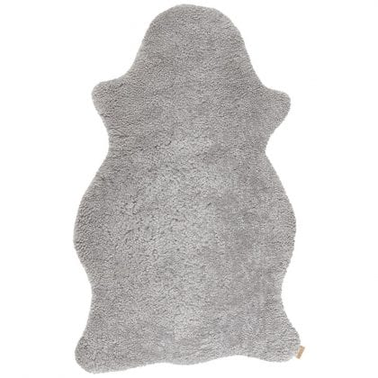 Genuine Australian Short Haired Sheepskin Rug by Shepherd of Sweden