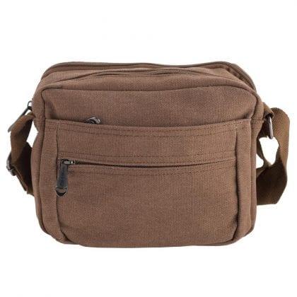 Unisex Lightweight Canvas Travel Work Shoulder Bag-0