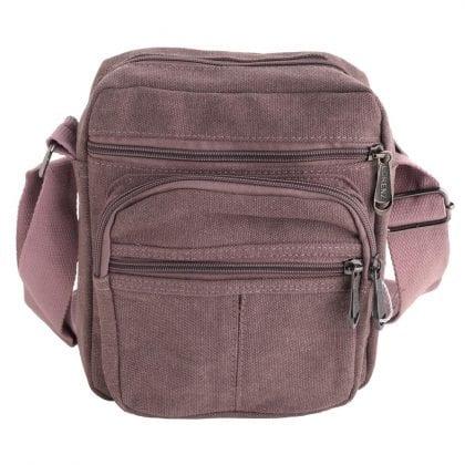 Unisex Lightweight Canvas Bag with Adjustable Strap-0