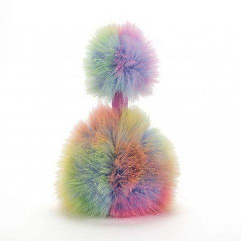 Jellycat Medium Rainbow Pom Pom - 33cm - Rear