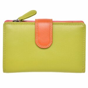 Ladies Premium Grade Leather Purse in Multi Colours