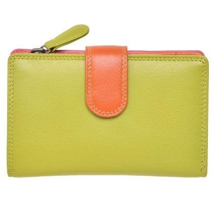 Ladies Premium Grade Leather Purse in Multi Colours