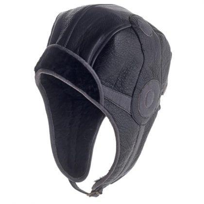 Unisex Soft Leather Vintage Style Flying Hat