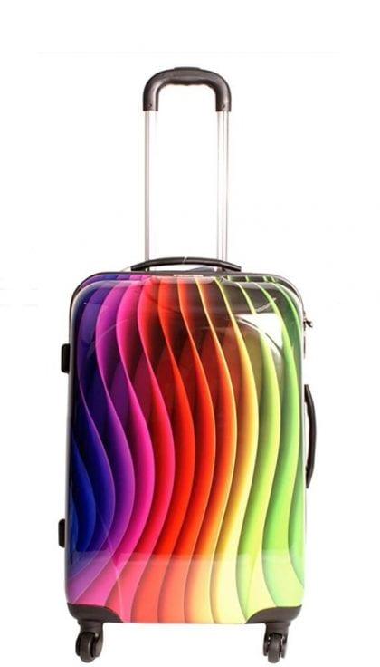 Multicolour Waves Design - Front