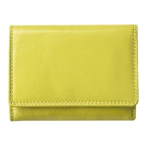 Ladies Super Soft Genuine Leather Tri-Fold Purse