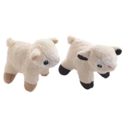 Pair of Super Soft and Cute Mini Bean Filled Lambs