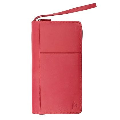 Genuine Leather Organiser Travel - Passport Wallet