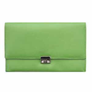 Luxury Soft Leather Travel Planner Wallet - Purse