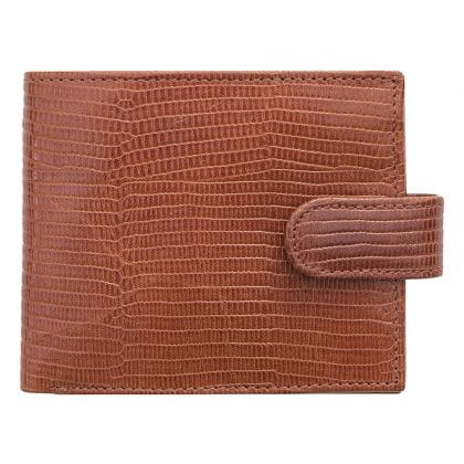 Mens Croc Collection Luxury Embossed Leather Wallet