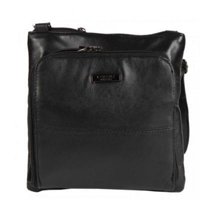 Ladies Soft Leather Bag with Organiser Pocket-0