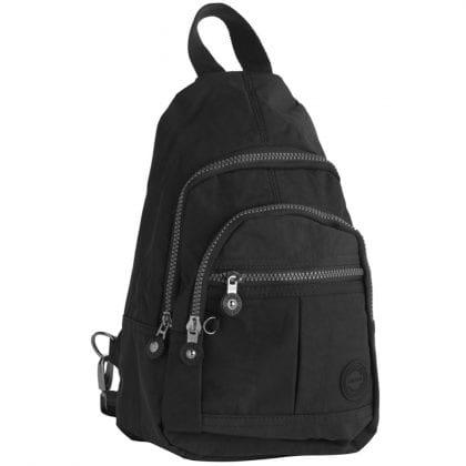 Unisex Lightweight Multi Zip Backpack-0