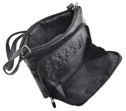 Ladies Soft Leather Bag with Organiser Pocket-149288