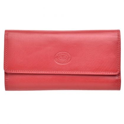 Ladies Soft Genuine Leather Purse with Coin Section