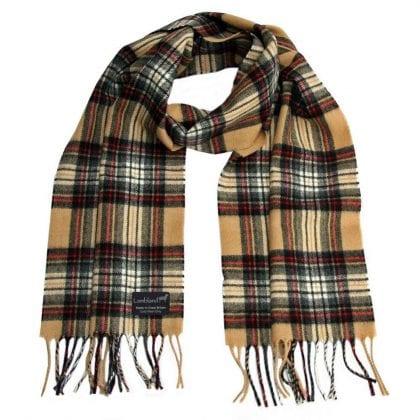 100% Pure New Wool Tartan Scarves