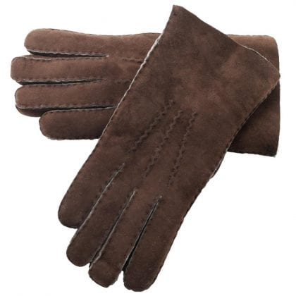 Mens Hand Sewn Genuine Soft Real Lambskin Gloves