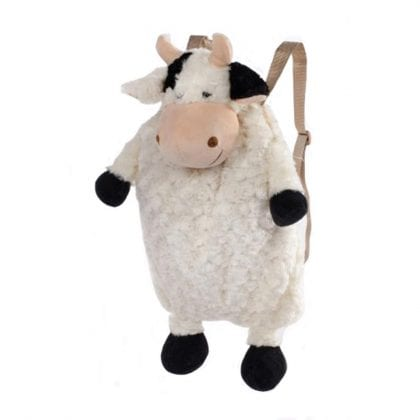 Super Soft Large Plush Cow Backpack-0