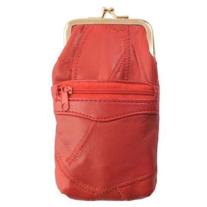 Super Soft Genuine Leather Cigarette Twist Top Case Holder