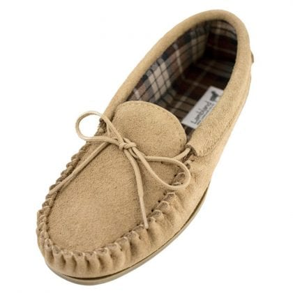 Ladies Premium Suede Cotton Lined Moccasins-0
