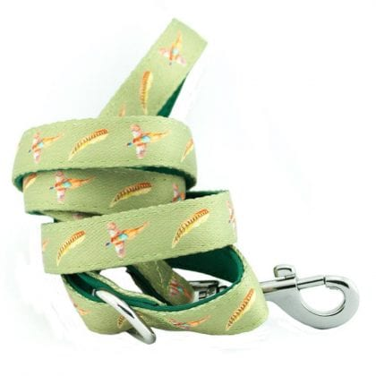 Pheasant Country Print Webbing and Soft Neoprene Dog Lead