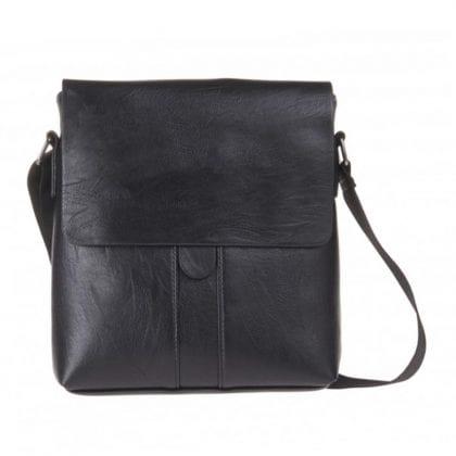 Unisex Gloss Finished Messenger Cross Body Bag