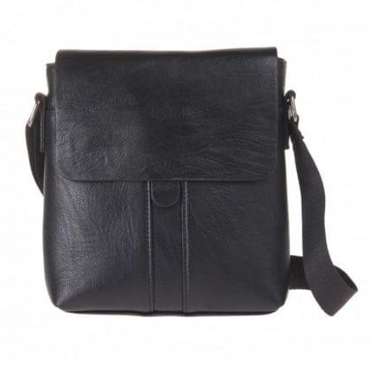 Unisex Gloss Finished Small Messenger Cross Body Bag
