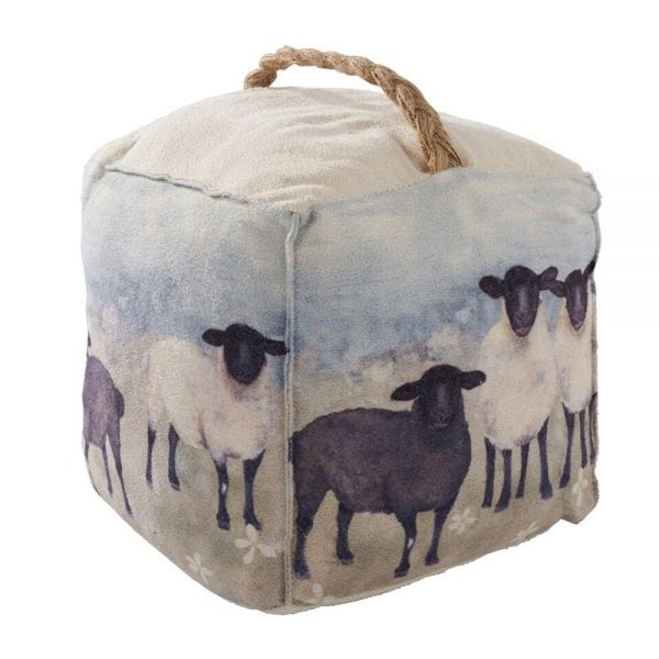 Scenic Sheep Doorstop