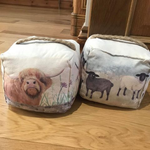 Scenic Sheep Doorstop - Pair