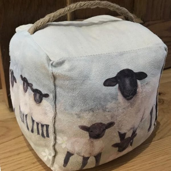 Scenic Sheep Doorstop - Lifestyle