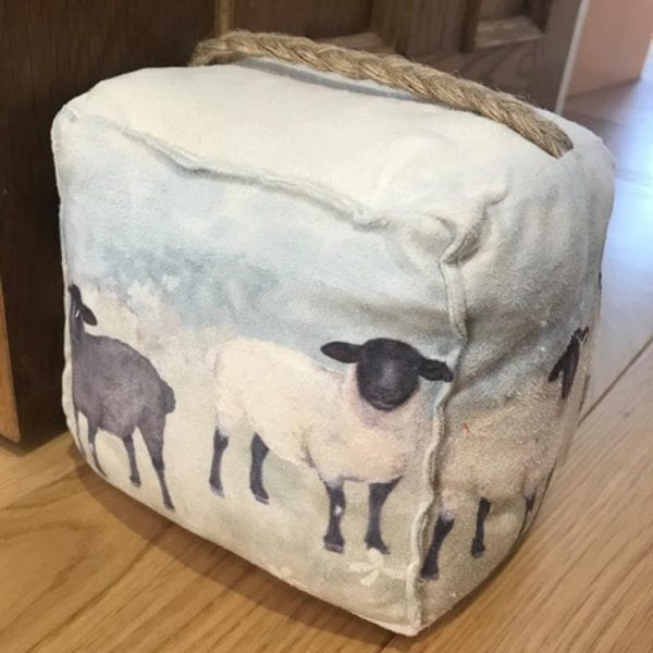 Scenic Sheep Doorstop - Lifestyle 2