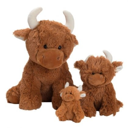 Jomanda Super Soft Highland Cow Soft Toys-0