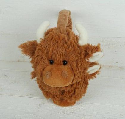 Jomanda Super Soft Highland Cow Earmuffs 2