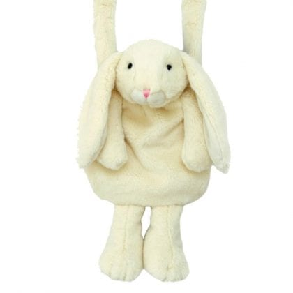 Jomanda Soft Cream Bunny Hand Muff