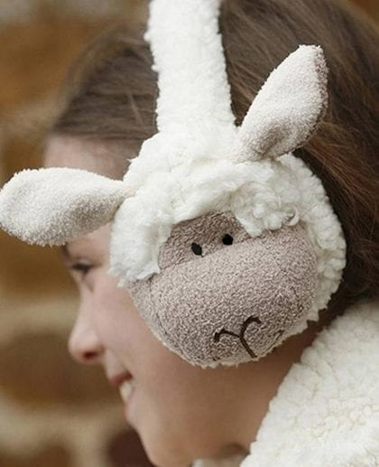 Jomanda Super Soft Sheep Earmuffs - Lifestyle