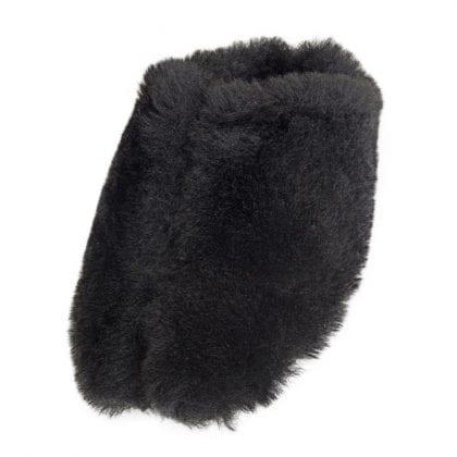 Ladies Genuine Sheepskin Fluffy Mule Slippers