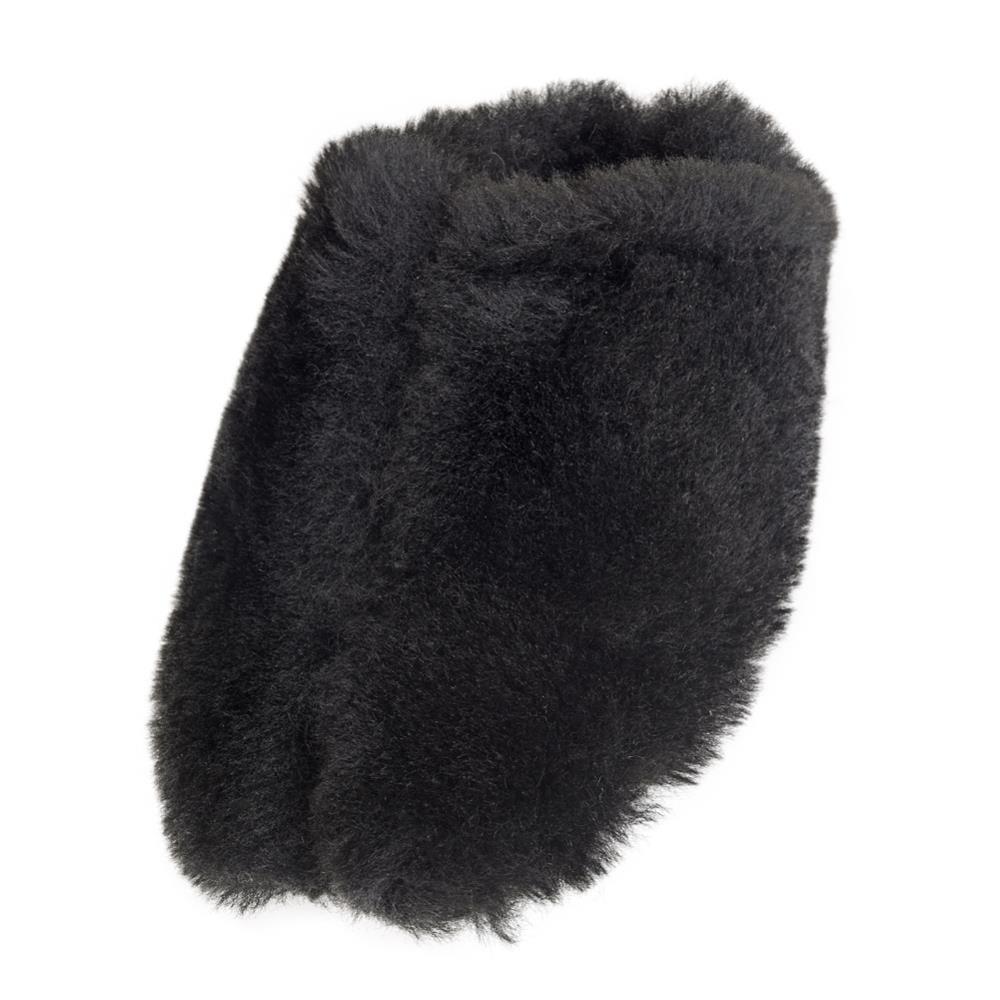 Ladies Genuine Sheepskin Fluffy Mule