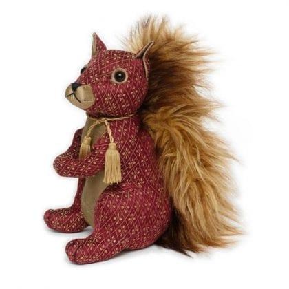Dora Designs Red Squirrel Doorstop