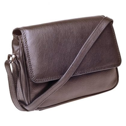 Ladies Luxury Leather Cross Body Handbag-0