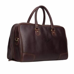 Luxury Genuine Leather Travel Holdall