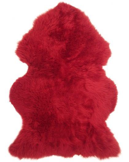 Genuine British Sheepskin Bright Red Starter / Gift Pack-155040