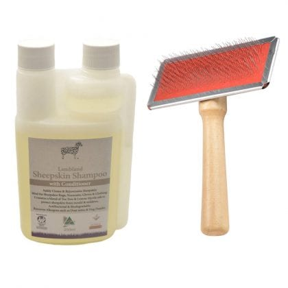 Sheepskin Rug Care & Cleaning Kit-0