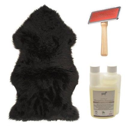 Genuine Sheepskin Black Starter / Gift Pack-0