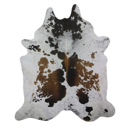Genuine Natural Brown White Reddish Cow Hides-0