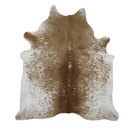 Genuine Brown White Speckled Natural Cow Hides-0